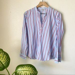 Madewell | Wellspring Striped Popover Tunic
